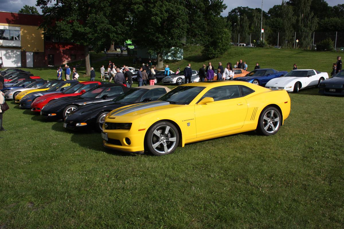 6 juli Corvette och Camaro