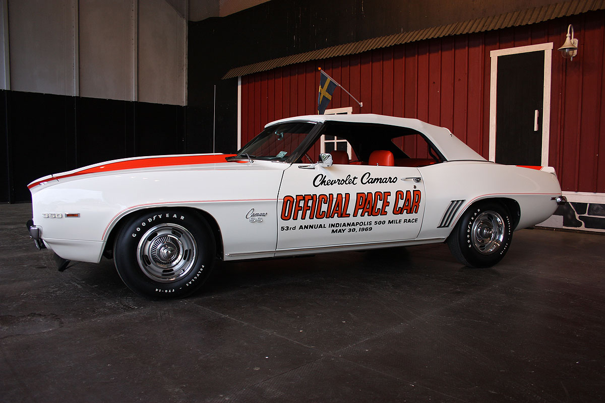 Camaro 1969 Official Pace Car